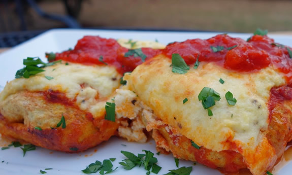 Paleo Beef Cannelloni Bake