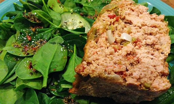 Paleo Tasty Turkey Meatloaf With Sauce