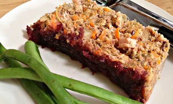 Paleo Cranberry Glazed Chicken