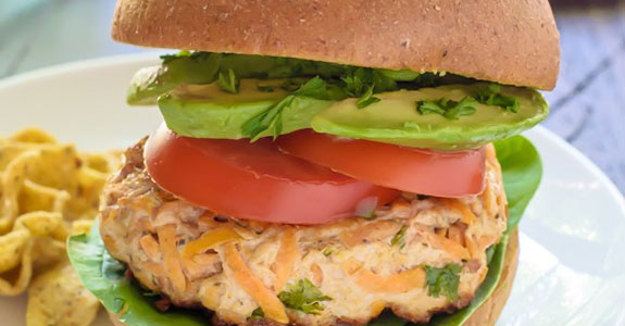 Sweet-Potato-Turkey-Burger