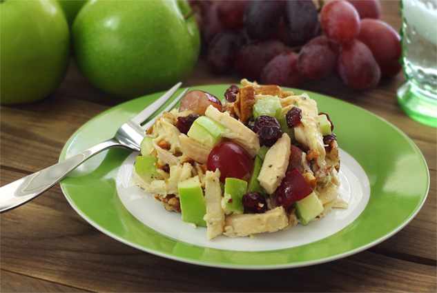 Paleo Chicken Pecan Salad