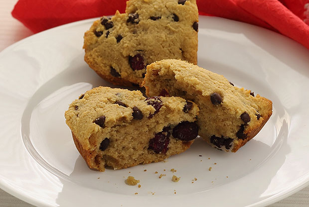 Paleo Chocolate Chip and Cranberry Scones