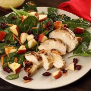 Kale-Spinach-Vinaigrette-Salad-1266x850