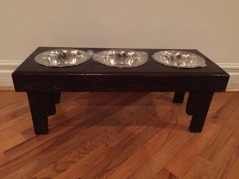 Large Of Dog Bowl Stand