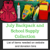 2016 July BackPack and supplies needed 400x400