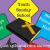 2016 Fall Youth Sunday School starts 8-14