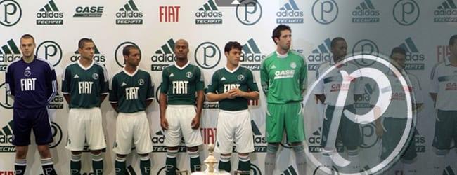"""Palmeiras lança nova """"armadura"""" para 2011/2012"""