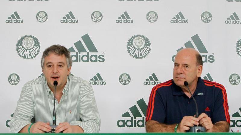 Palmeiras descarta pressa por novo patrocinador