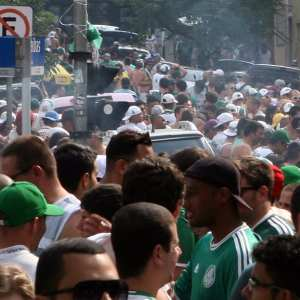 Com casa cheia, Palmeiras vende 100% dos ingressos pela internet