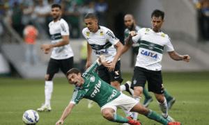 Reservas do Palmeiras perdem do Coritiba com pior público do Palestra