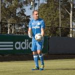 Fernando Prass estreia novo uniforme de goleiros contra o Santos