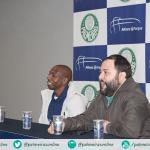 Amaral participa de tour com palmeirenses no Allianz Parque