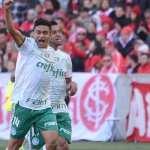 Palmeiras marca no começo, frustra estreia de Falcão no Inter e segue firme na ponta