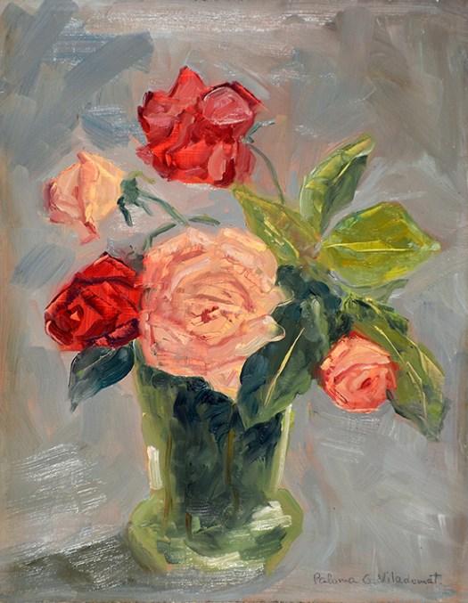 'Bouquet de rosas'