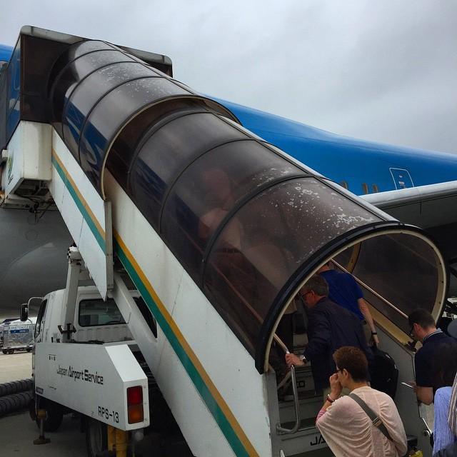 passagiers in vliegtuig