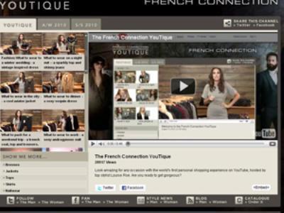 "Image {focus_keyword} French Connection lancia la prima ""Youtique"" 39654 2010101410312"