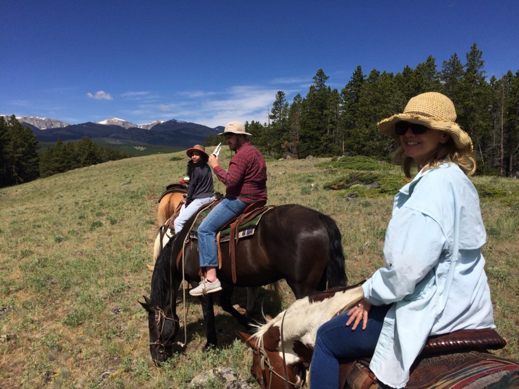 clark and alayah south fork trail ride
