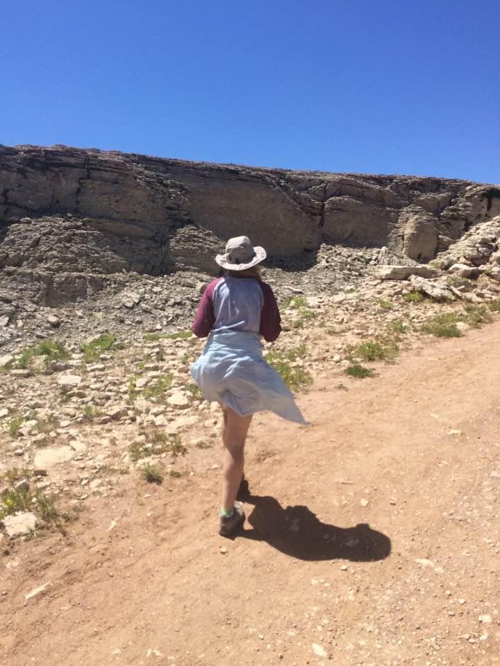 fast hiker medicine wheel