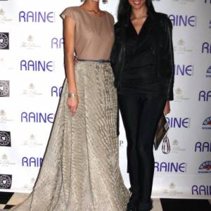 Pamela Quinzi with  Jaslene Gonzalez winner of American Next Top Model