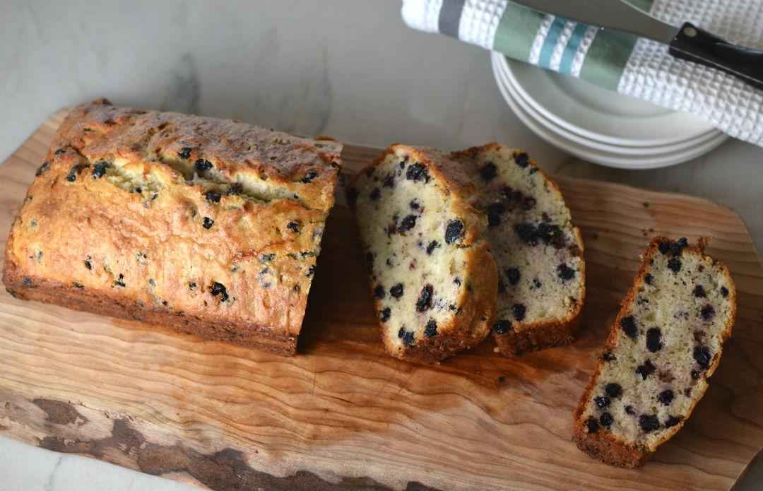 Blueberry Qucik Bread