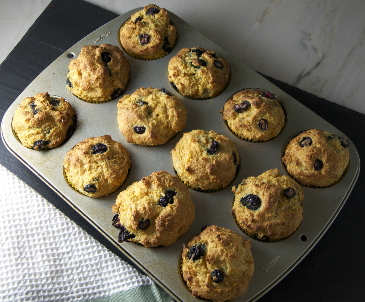 Blueberry Corn Muffins - Pamela's Gluten Free and ...
