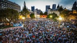 marcha por la democracia