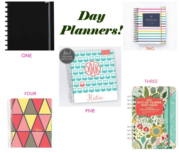 DAY PLANNER Collage