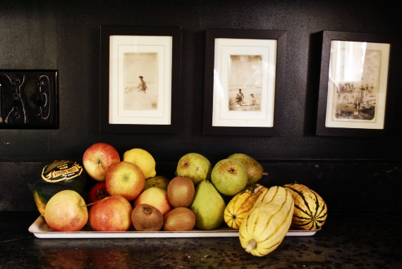 Fruit and squash