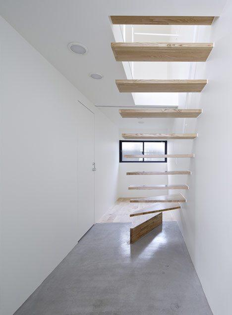 design rumah minimalis modern ala lahan super sempit