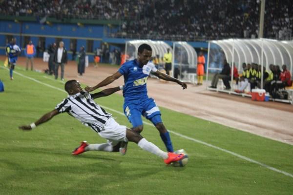 Striker David Kasirye having impressed for Rayon Sports this season