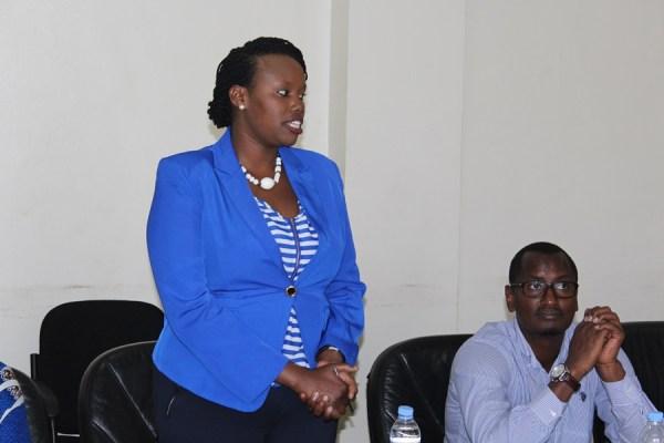 Madamu Mugwaneza Pascale, Visi Perezida wa mbere