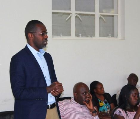 Nyirishema Richard, Visi Perezida wa kabiri. (Ifoto/kigalishowz)