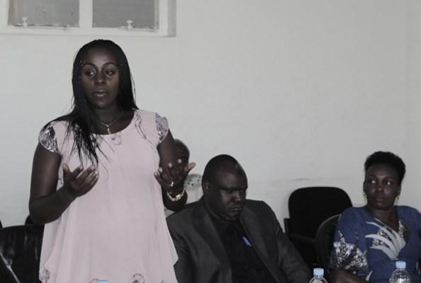 Madamu Muhongerwa Alice, Umubitsi. (Ifoto/kigalishowz)