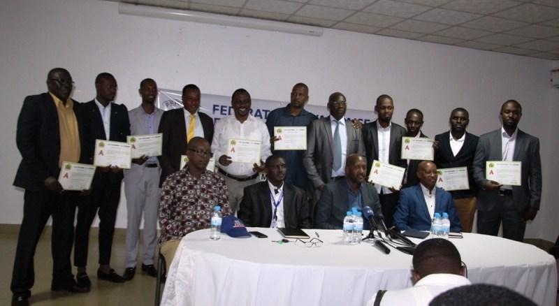Abatoza 12 bahawe impamyabushobozi zo ku rwego rwa A za CAF (Photo/igihe.com)