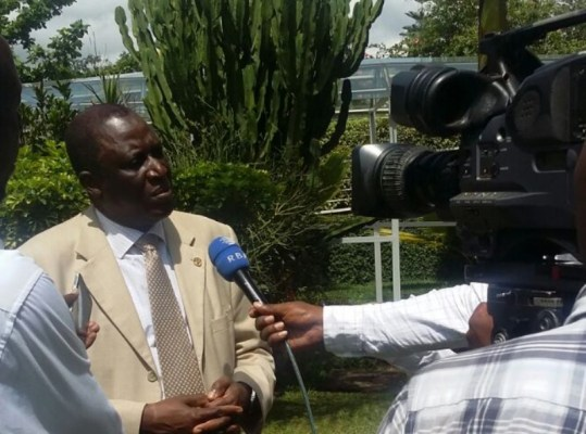 Attaher Maiga, représentant de la FAO au Rwanda (Nyandwi Alexis)