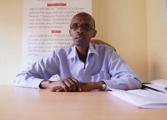 Willy Rukundo Umuyobozi Mukuru w'Ikigo Abadahigwa ku Ntego Ltd, ubwo yagiranaga ikiganiro n'Ikinyamakuru Panorama (Photo/Panorama)
