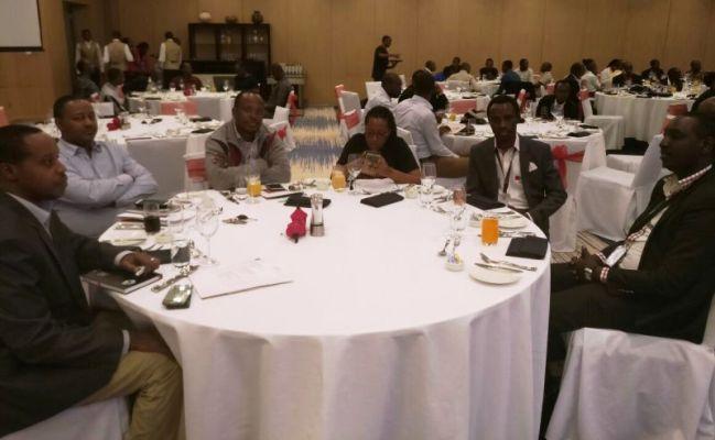 Bamwe mu bitabiriye isabukuru y'imyaka 10 ya AHF ikorera mu Rwanda (Photo/Panorama)