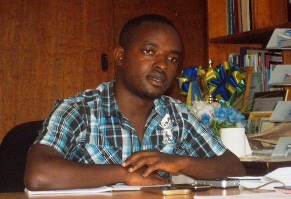 David Mfitumukiza, Kayenzi sector's acting Executive Secretary (Photo/Elias H.)