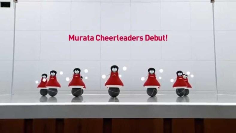 The Murata Cheerleaders