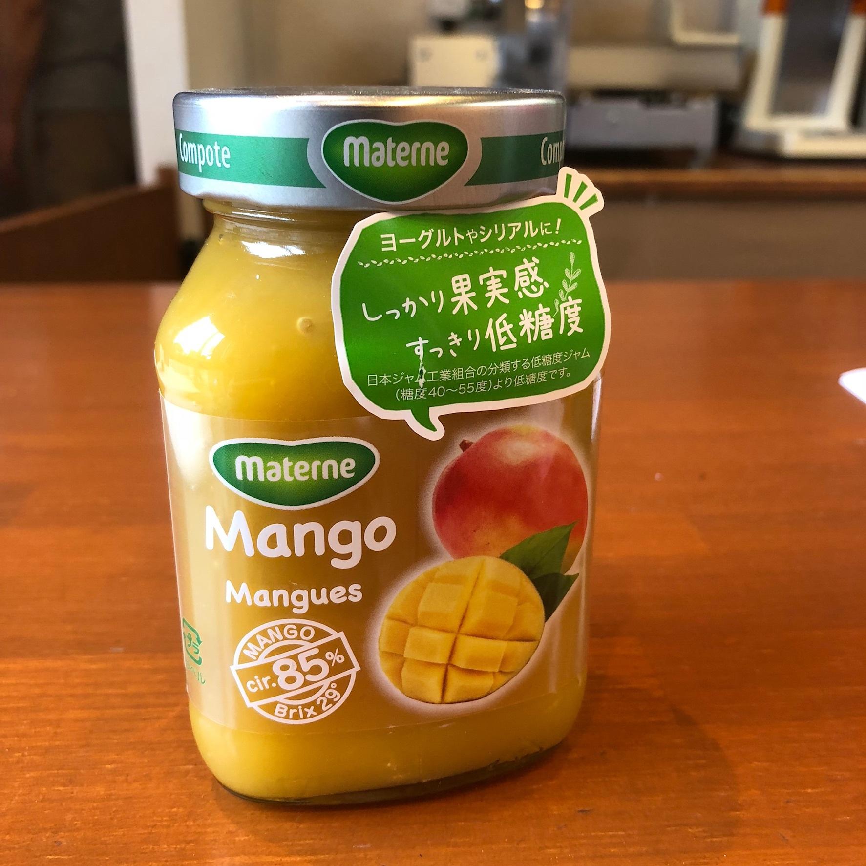 マンゴーコンポート