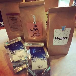 冬の限定コーヒー豆