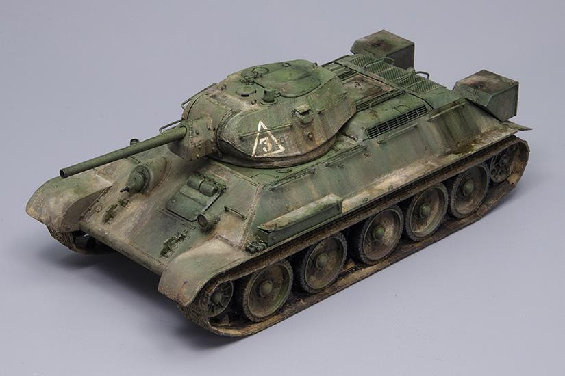 T-34/76 Factory Nº112, 1942 Model, Tamiya 1/48, Finished!