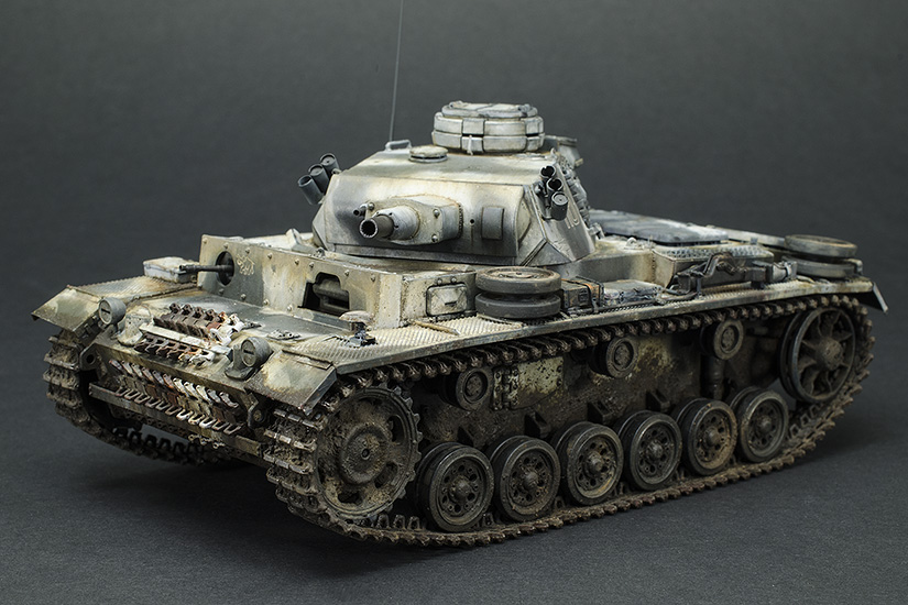 Panzer III Ausf. N, Finished!