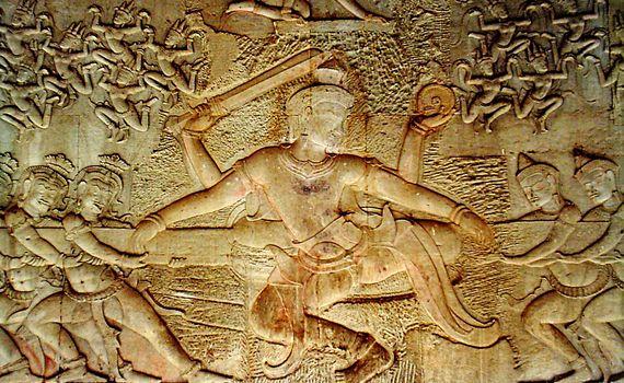 阿修羅壁畫