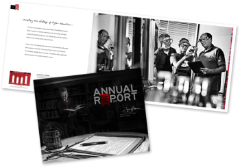 Edinboro Universtity Annual Report by PAPA Advertising in Erie, PA