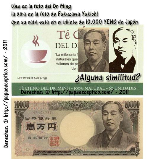 fraude del te verde Dr ming