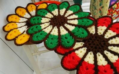 お花の円座マット DSC_0598