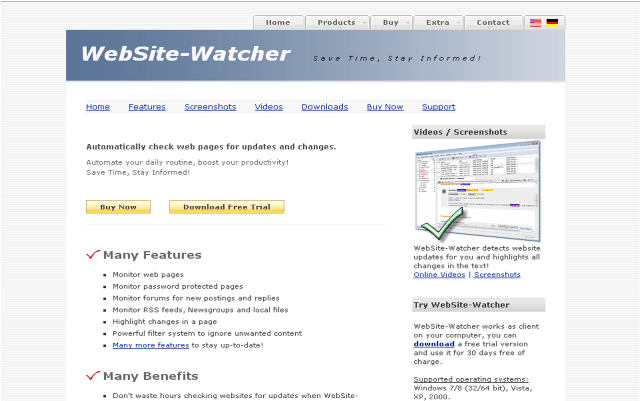 vigila a tu competencia con website-watcher