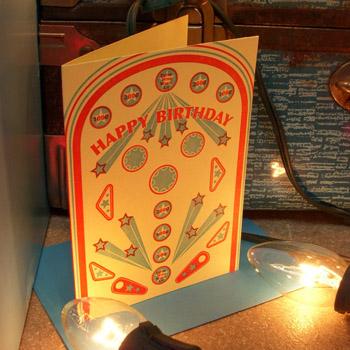 A. Favorite Carnival Letterpress Card