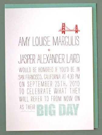 Hello Lucky Big Day Wedding Invitations